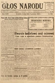 Głos Narodu. 1936, nr331