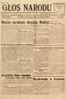 Głos Narodu. 1936, nr332