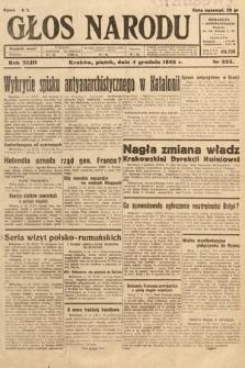 Głos Narodu. 1936, nr333