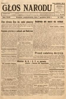 Głos Narodu. 1936, nr336