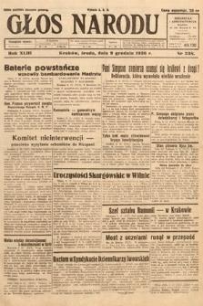 Głos Narodu. 1936, nr338