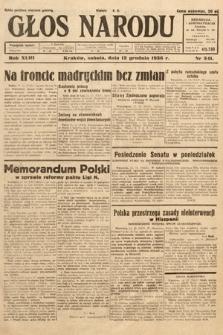 Głos Narodu. 1936, nr341