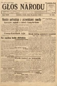 Głos Narodu. 1936, nr345