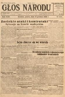 Głos Narodu. 1936, nr347