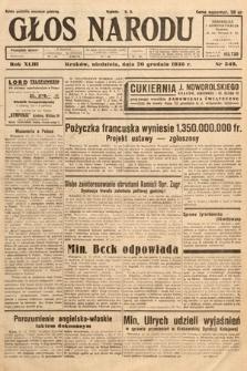 Głos Narodu. 1936, nr349
