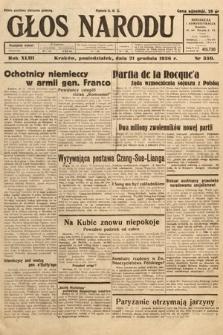 Głos Narodu. 1936, nr350
