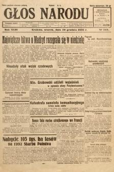 Głos Narodu. 1936, nr355