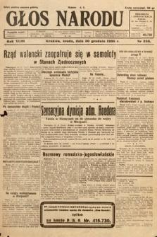 Głos Narodu. 1936, nr356