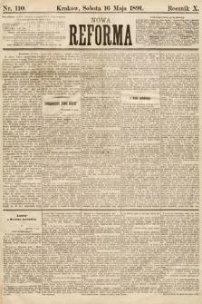 Nowa Reforma. 1891, nr110