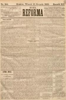 Nowa Reforma. 1893, nr185