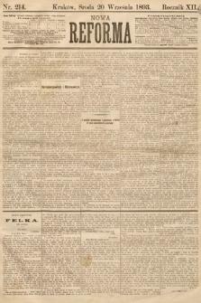 Nowa Reforma. 1893, nr214