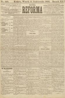 Nowa Reforma. 1893, nr249