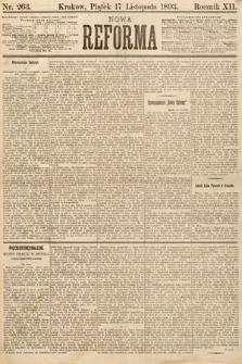 Nowa Reforma. 1893, nr263
