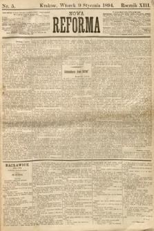 Nowa Reforma. 1894, nr5