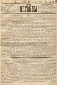 Nowa Reforma. 1894, nr15
