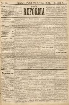 Nowa Reforma. 1894, nr20