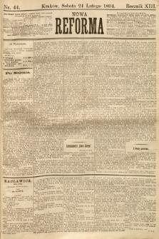Nowa Reforma. 1894, nr44