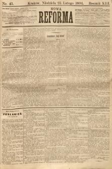 Nowa Reforma. 1894, nr45