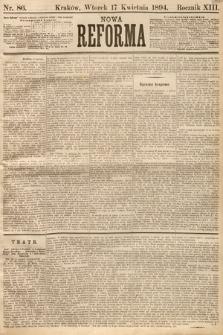 Nowa Reforma. 1894, nr86