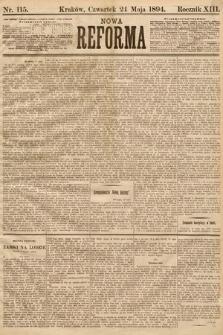 Nowa Reforma. 1894, nr115