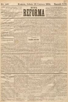 Nowa Reforma. 1894, nr140