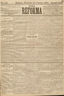 Nowa Reforma. 1894, nr141