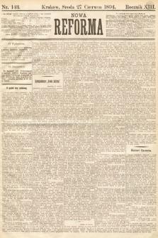 Nowa Reforma. 1894, nr143