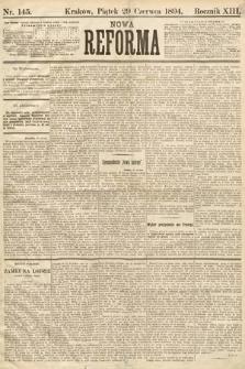 Nowa Reforma. 1894, nr145