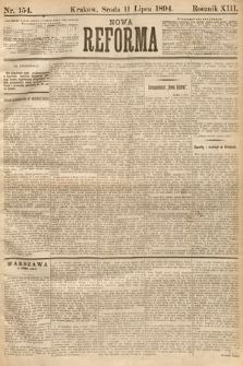 Nowa Reforma. 1894, nr154