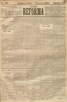 Nowa Reforma. 1894, nr198