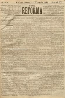 Nowa Reforma. 1894, nr215