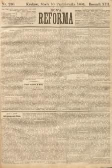 Nowa Reforma. 1894, nr230