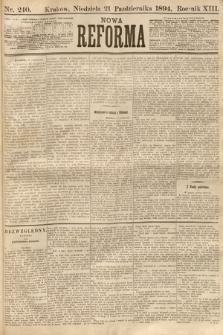 Nowa Reforma. 1894, nr240