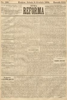 Nowa Reforma. 1894, nr280