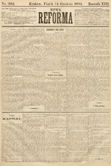 Nowa Reforma. 1894, nr284
