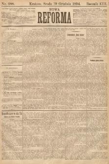 Nowa Reforma. 1894, nr288