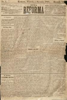 Nowa Reforma. 1895, nr1
