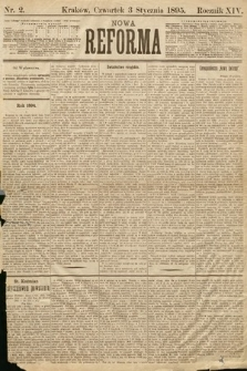 Nowa Reforma. 1895, nr2