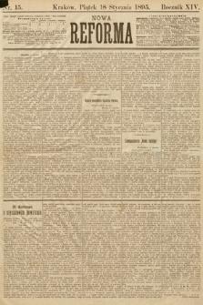 Nowa Reforma. 1895, nr15