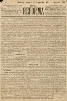 Nowa Reforma. 1895, nr16