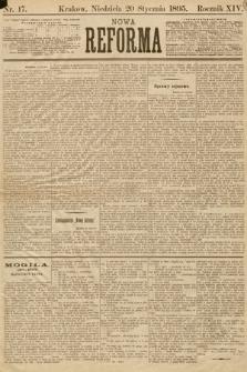 Nowa Reforma. 1895, nr17