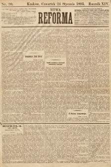 Nowa Reforma. 1895, nr20