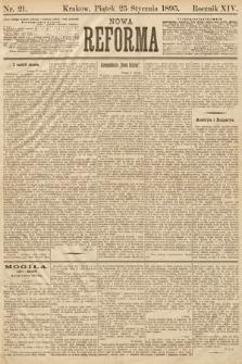 Nowa Reforma. 1895, nr21