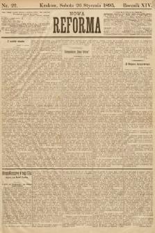 Nowa Reforma. 1895, nr22