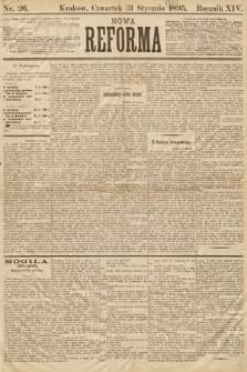 Nowa Reforma. 1895, nr26