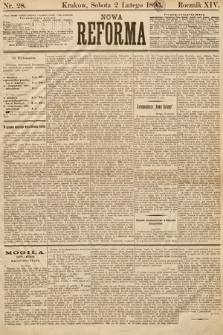 Nowa Reforma. 1895, nr28