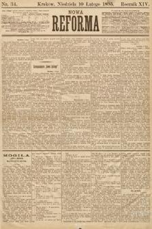 Nowa Reforma. 1895, nr34