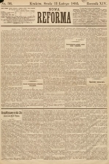 Nowa Reforma. 1895, nr36