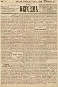 Nowa Reforma. 1895, nr42