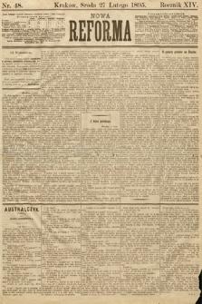 Nowa Reforma. 1895, nr48